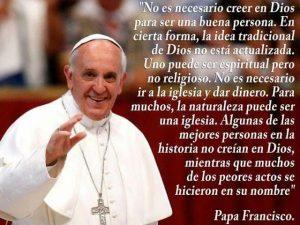 Frases falsas del Papa Francisco