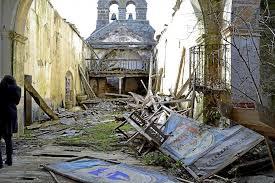Iglesia en ruínas