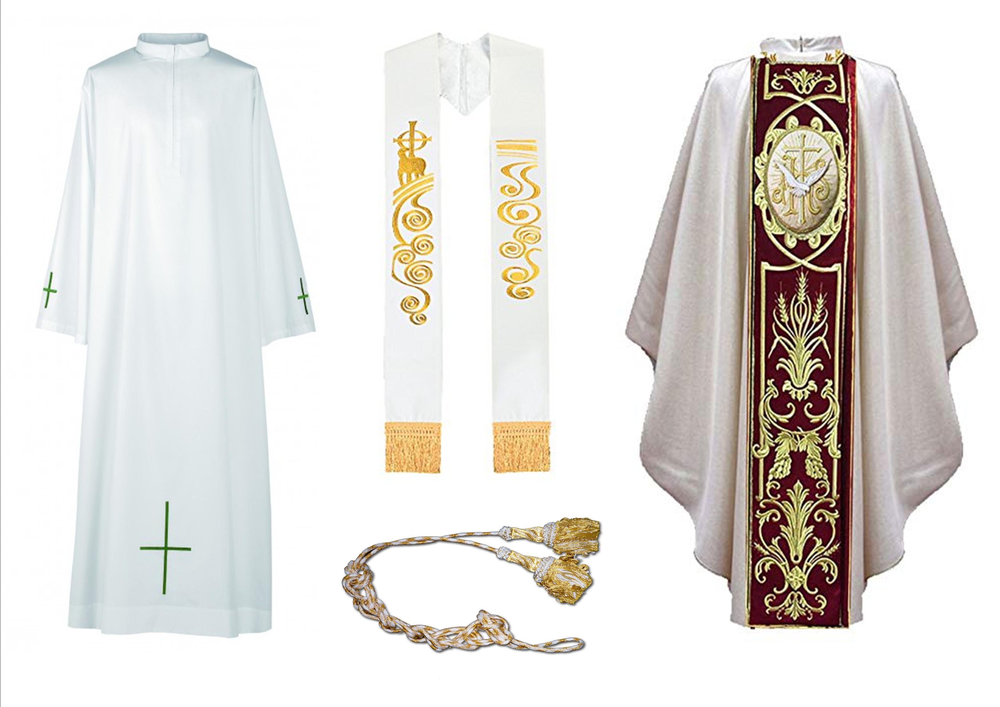 simbologia de las vestiduras litúrgicas
